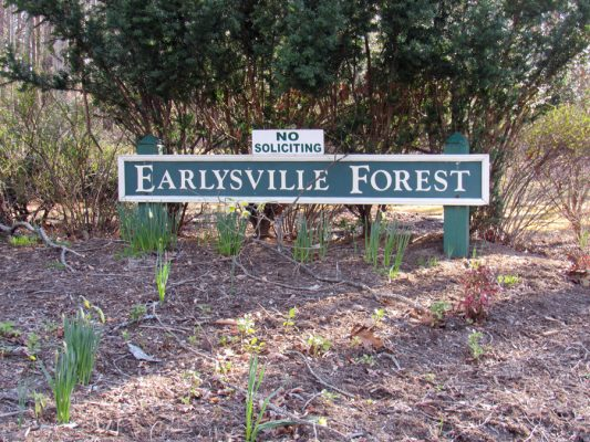 Search for Earlysville Forest neighborhood Real Estate with realtor Virginia Gardner 434-981-0871