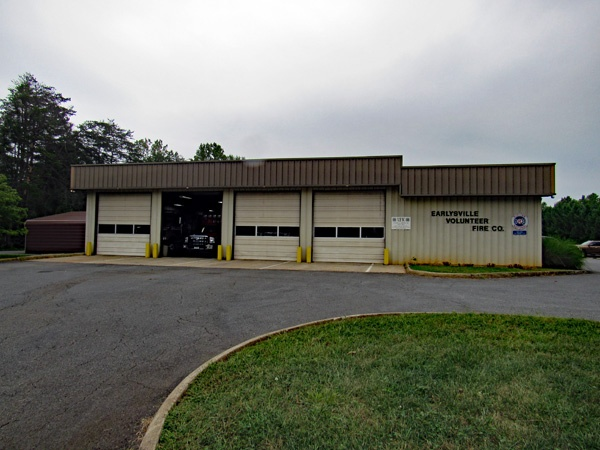 The Earlysville Volunteer Fire Company Building